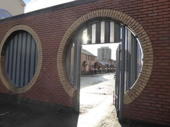 peace gate